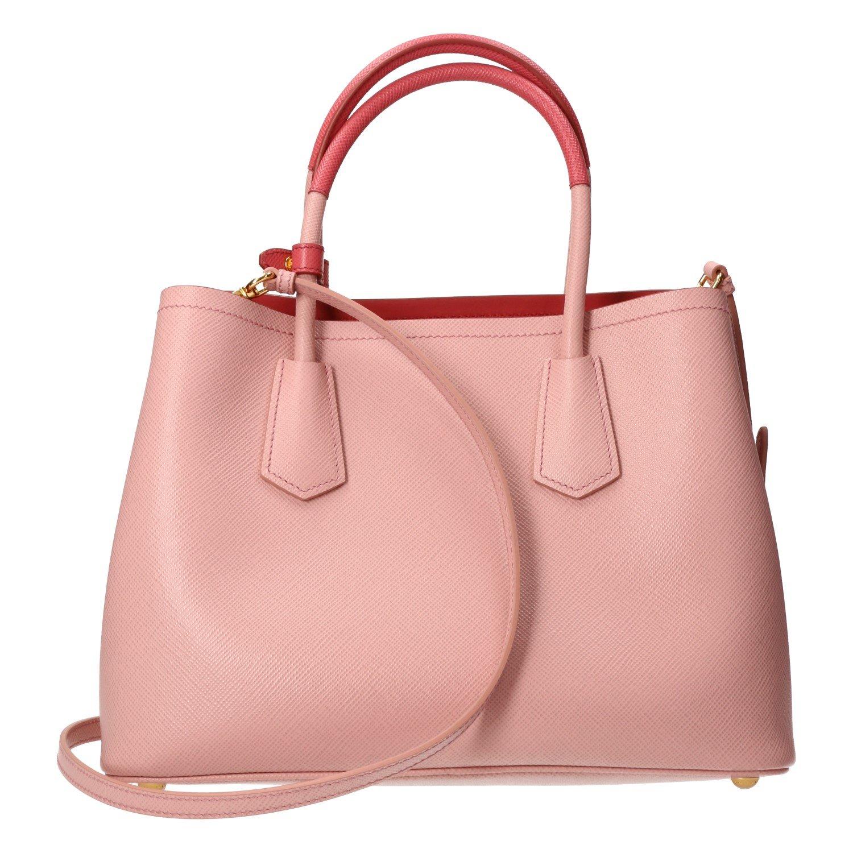 4275706f828a ... germany prada saffiano cuir double mini tote bag baby pink amazon shoes  handbags 55504 298df