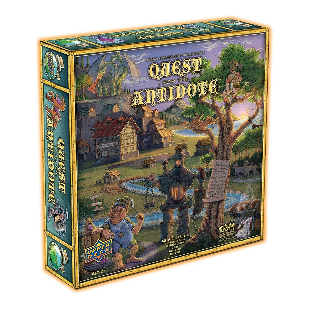 Upper Deck Quest for the Antidote UPPJ9 pallet ordering 87296