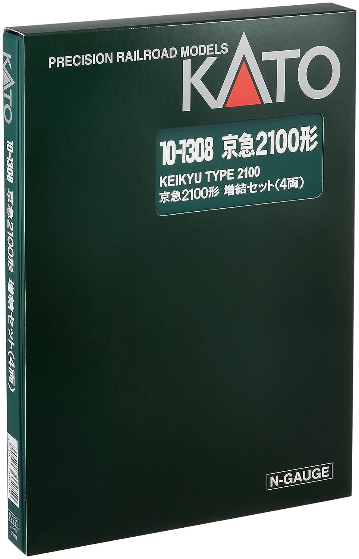 KATO Nゲージ 京浜急行 2100形 増結 4両セット 10-1308 鉄道模型 電車   B0154PCN8C