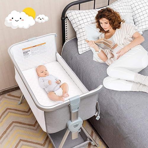 BABY JOY Bedside Bassinet