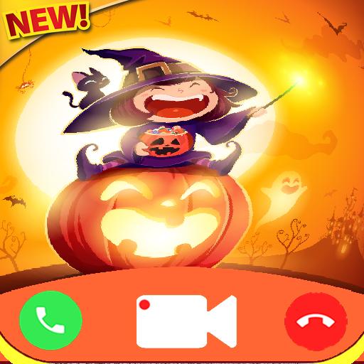 Scary Halloween Phone Pranks (fake call Halloween game Free Fake Phone Call ID PRO - PRANK Fake Texte)