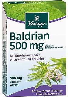 Kneipp Baldrian, 500 mg, 90 comprimidos,90 unidades
