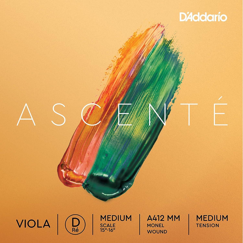 Medium Tension Extra-Short Scale DAddario Ascent/é Viola C String