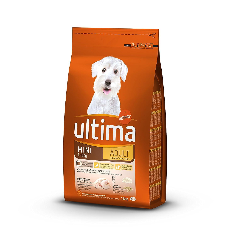 Ultima Croquettes pour Chien Adulte Spécial Mini Light 1, 5 kg 920908