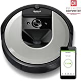 iRobot Roomba i7156 15165 具有学习性,创造空间计划并调整,以找到*佳清洁路径,浅银色