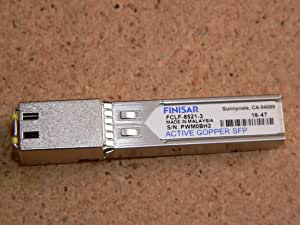 Amazon Com Finisar Original Sfp Single Copper Gigabit Fclf 8521 3 Computers Accessories