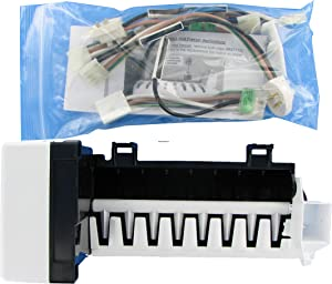 Whirlpool/Frigidaire/Kenmore/Westinghouse/Gibson/Electrolux 4317943 / WP4317943 Refrigerator Ice Maker Assembly Kit (Renewed)