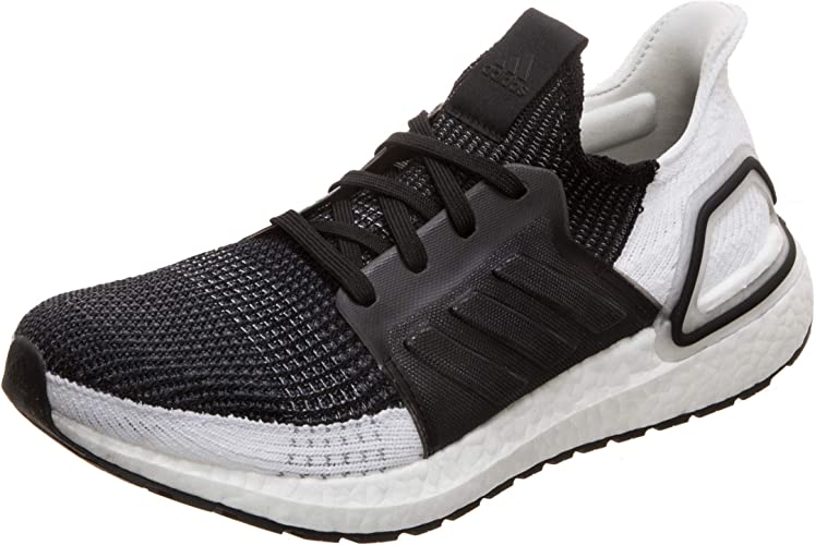 Adidas Ultra Boost 19 Mens Running Shoe Black 9 5 Road Running