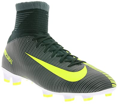 promo code 3302c 8f666 Nike Jr Mercurial Superfly V CR7 852483-376 Seaweed White Kids Soccer cleats  (