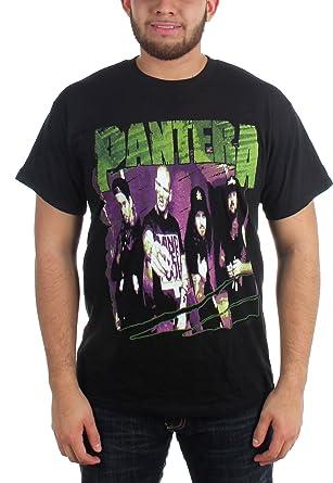 c1d922f518de Pantera Herren Gruppe Sketch T-Shirt in Schwarz  Amazon.de  Bekleidung