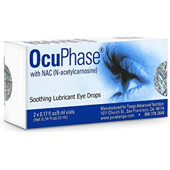 Amazon Com Ocuphase Soothing Lubricant Eye Drops With