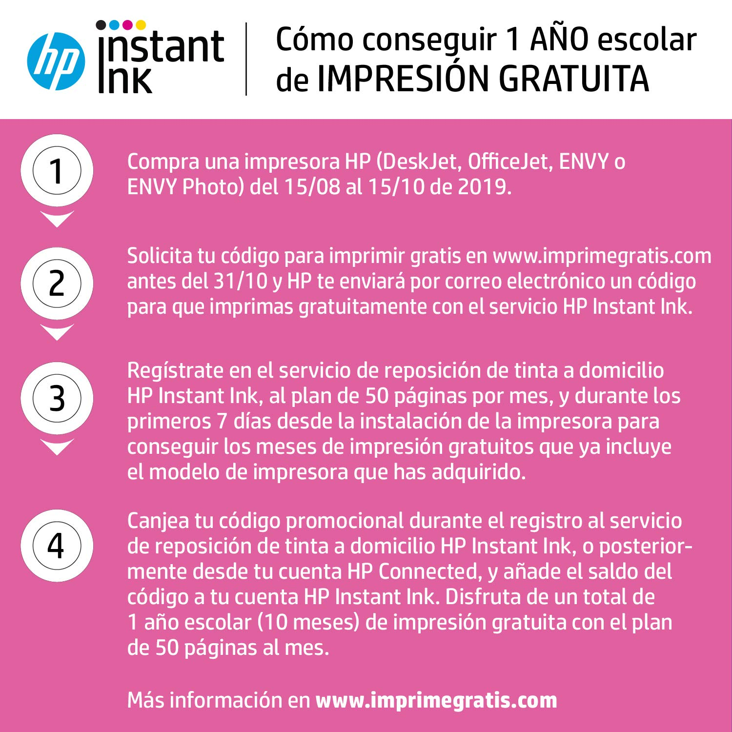 HP Deskjet 2630 - Impresora Multifunción Inalámbrica Color Blanco ...