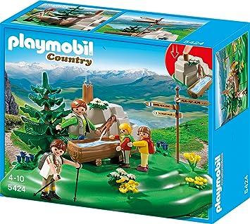 Playmobil 5424 Wanderer Bei Der Gebirgsquelle Amazon De Spielzeug
