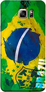 ColorKing Football Brazil 19 Multi Color shell case cover for Samsung Note 5
