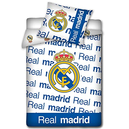 Real Madrid Funda Nórdica vintage único y la funda de almohada Set