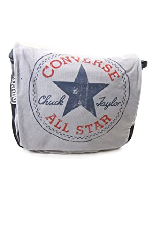 0a534f13850 Image Unavailable. Image not available for. Colour: Converse Chuck Taylor  All Star 2IA020A Cotton Messenger Bag - Grey