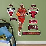 """NBA Chicago Bulls Michael Jordan Fathead Junior Wall Decals, 1'3"""" x 3'2"""""""