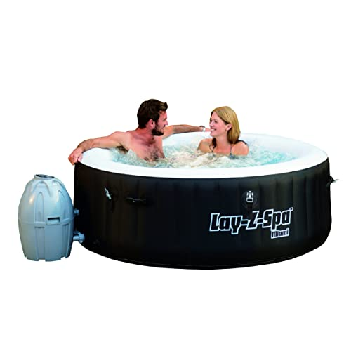 bestway lay z spa miami inflatable hot tub review. Black Bedroom Furniture Sets. Home Design Ideas