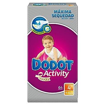 Dodot Activity - Pañales talla 4 (9-15 kg), 3 Paquetes x 64: 192 unidades: Amazon.es: Salud y cuidado personal