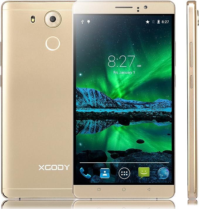 XGODY TURNEO Plus 6 Pulgadas Desbloqueado Smartphone Android 5.1 ...