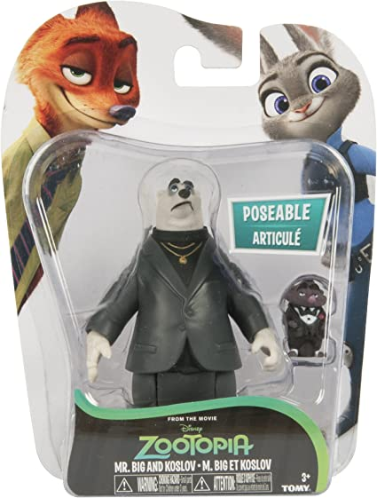 Big And Kevin Figures New Tomy Disney Zootopia Mr