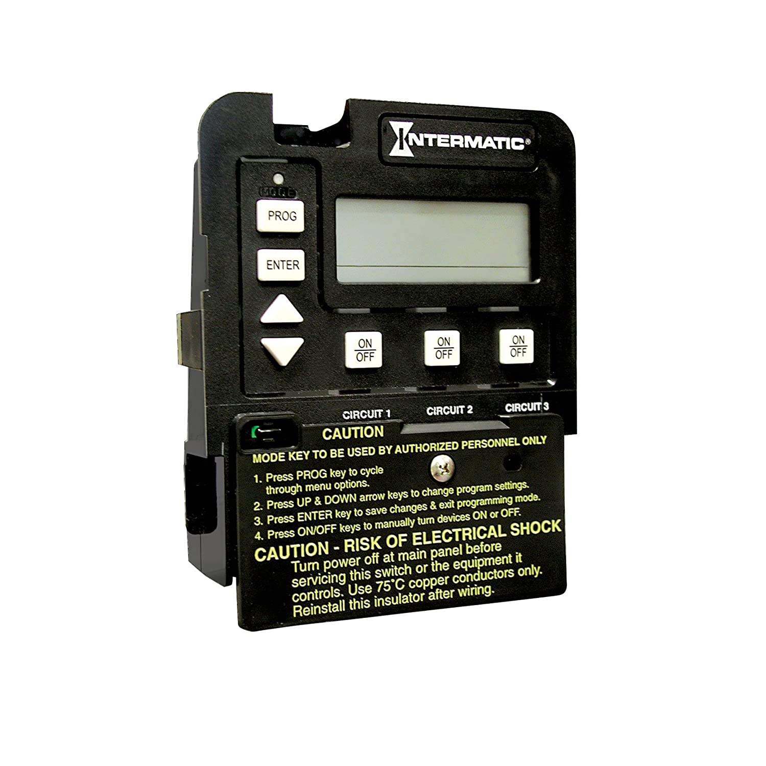 Intermatic P1353ME 3-Circuit Pool/Spa Digital Time Switch - Wall ...