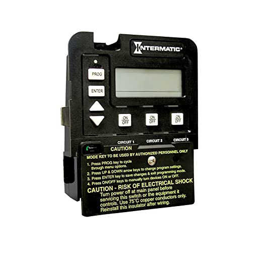 818WqmmCCxL._SX522_ intermatic p1353me 3 circuit pool spa digital time switch wall intermatic p1353me 240v wiring diagram at creativeand.co