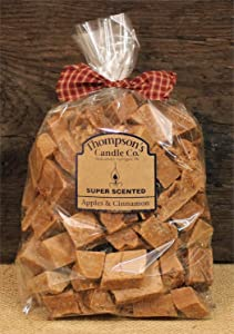 Thompson's Candle Co. Super Scented Crumbles/Wax Melts 32 oz Apples & Cinnamon