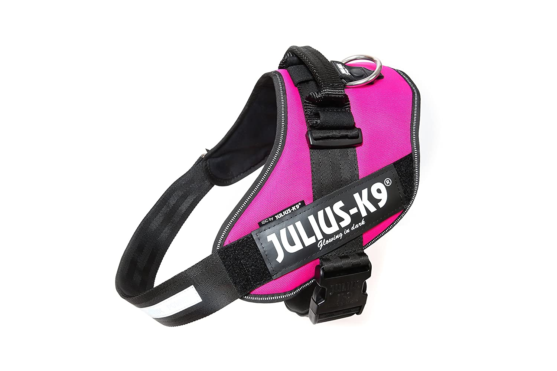 Julius-K9 16IDC-DPN-3 IDC Power Harness, Size  3 (82-115cm 32.5-46.5 ), Dark Pink