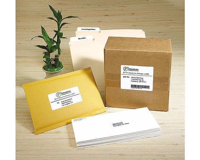 Amazon Avery Ecofriendly White Address Labels 1 X 25625