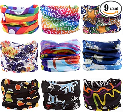 Amazon.com   KINGREE 9PCS Headbands 60cad00db30