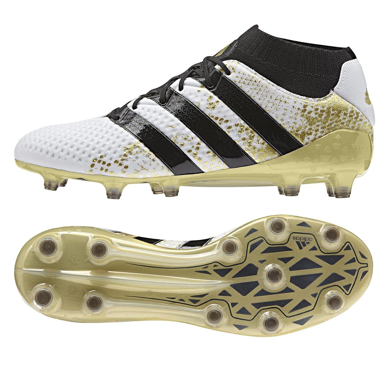 Adidas Ace 16.1 Primeknit FG - Fußballstiefel - Herren, Weiß
