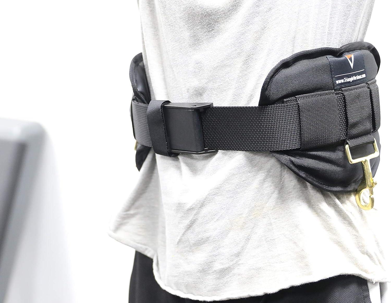 VertiMax Belt /& FieldPower Belt Training Systems Triangle Sports Performance /& Wellness Premium Waist Harness Side Replacement Pad for Just Jump Belt Run Rocket Belt