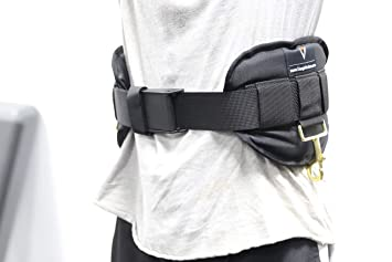 Triangle Sports Performance & Wellness Premium Deluxe Waist Harness for Just Jump Belt