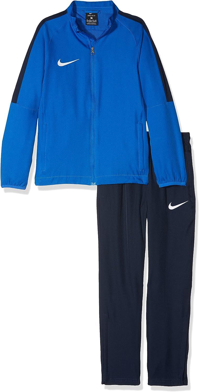 NIKE Dry Academy 18 Football Trkst Ch/ándal Unisex ni/ños S Royal Blue//Obsidian//White Azul