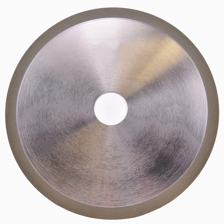 "MaxTool OD 8"" Thick 1 mm Diamond Cut-Off Wheel Bore 1.25"" Grit Width 0.393"" Grit 180 Resin Bond; NDR1A1RD8T01X10G18"