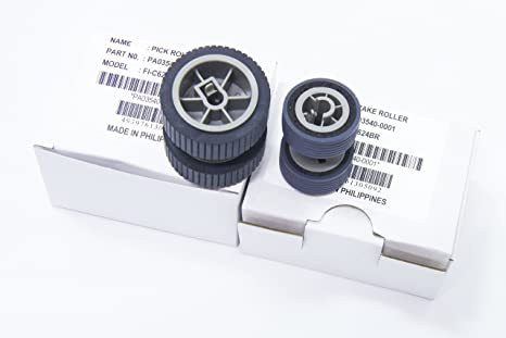 /0002/Scanner Selecci/ón Roller para Fujitsu FI-6130/FI-6140/fi-6230 yanzeo 03540/ /0001/PA03540/