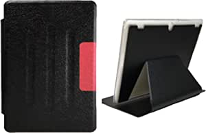 Folio PU Leather Stand Case Cover Protective for Lenovo Tab 2 A10-30 TB2-X30-10.1 Inch BLACK &RED COLOR