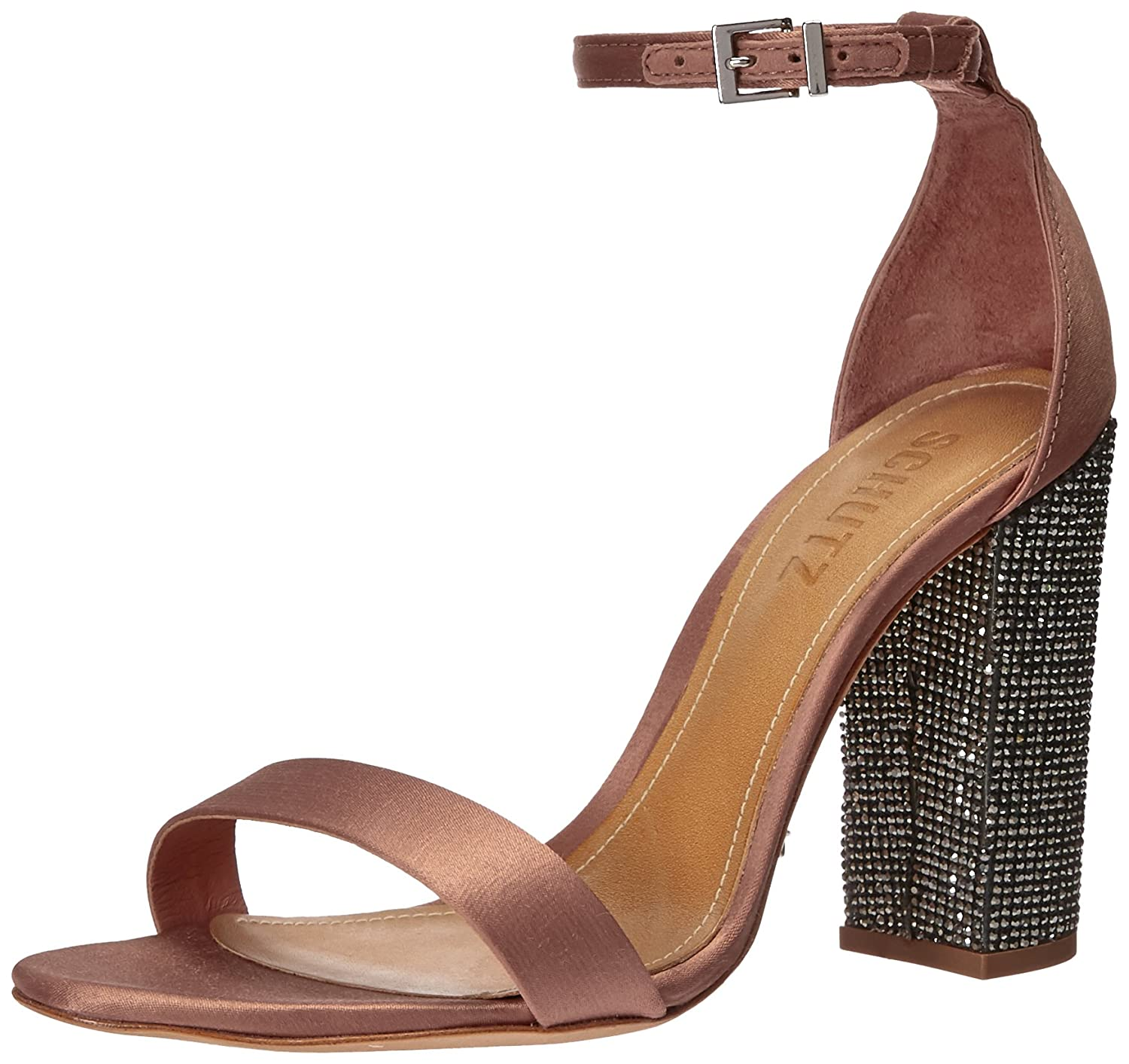 e25b6fb333f Amazon.com  SCHUTZ Women s Hara Heeled Sandal  Shoes