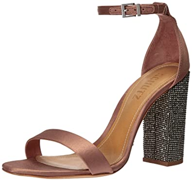 6bcbd716e4b9 Amazon.com  SCHUTZ Women s Hara Heeled Sandal  Shoes