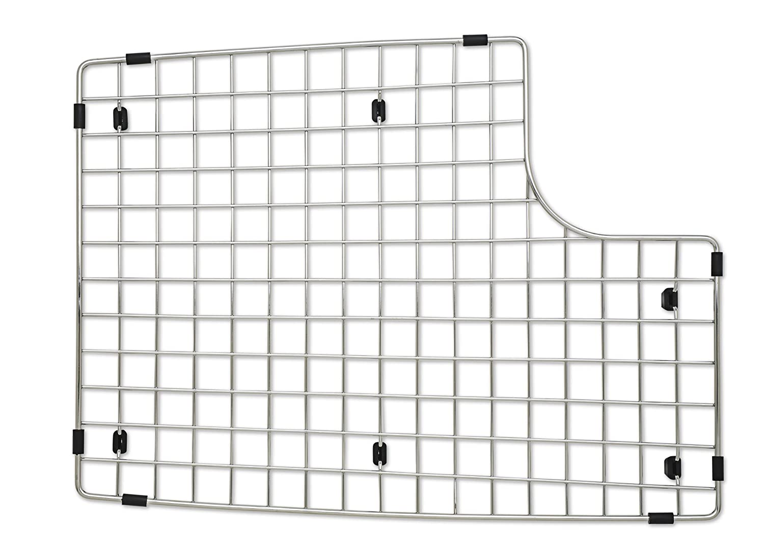 amazoncom blanco 222472 sink grid fits performa silgranit ii cascade stainless steel home improvement - Stainless Steel Sink Grid