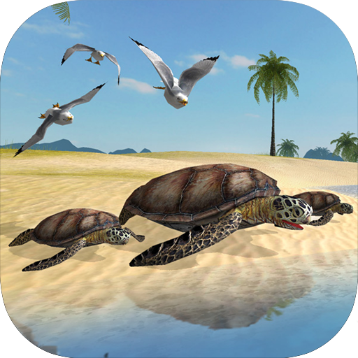 Sea Turtle Simulator (Animals Stingray)