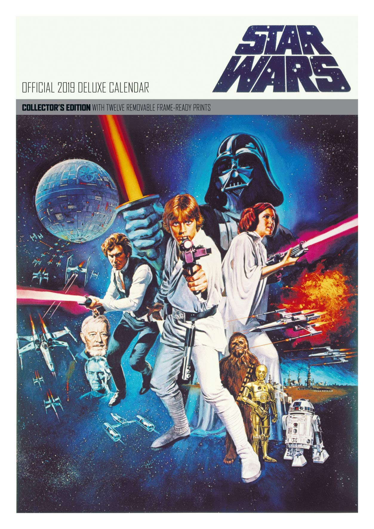 Star Wars Classic Deluxe Official 2019 Calendar - A3 Format ...