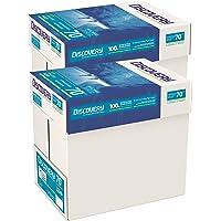 Discovery - Carta 70g/mq, formato A4 70 g/mq 10 x Reams (5,000 Sheets) - 2 x Boxes, 5000 Pezzi