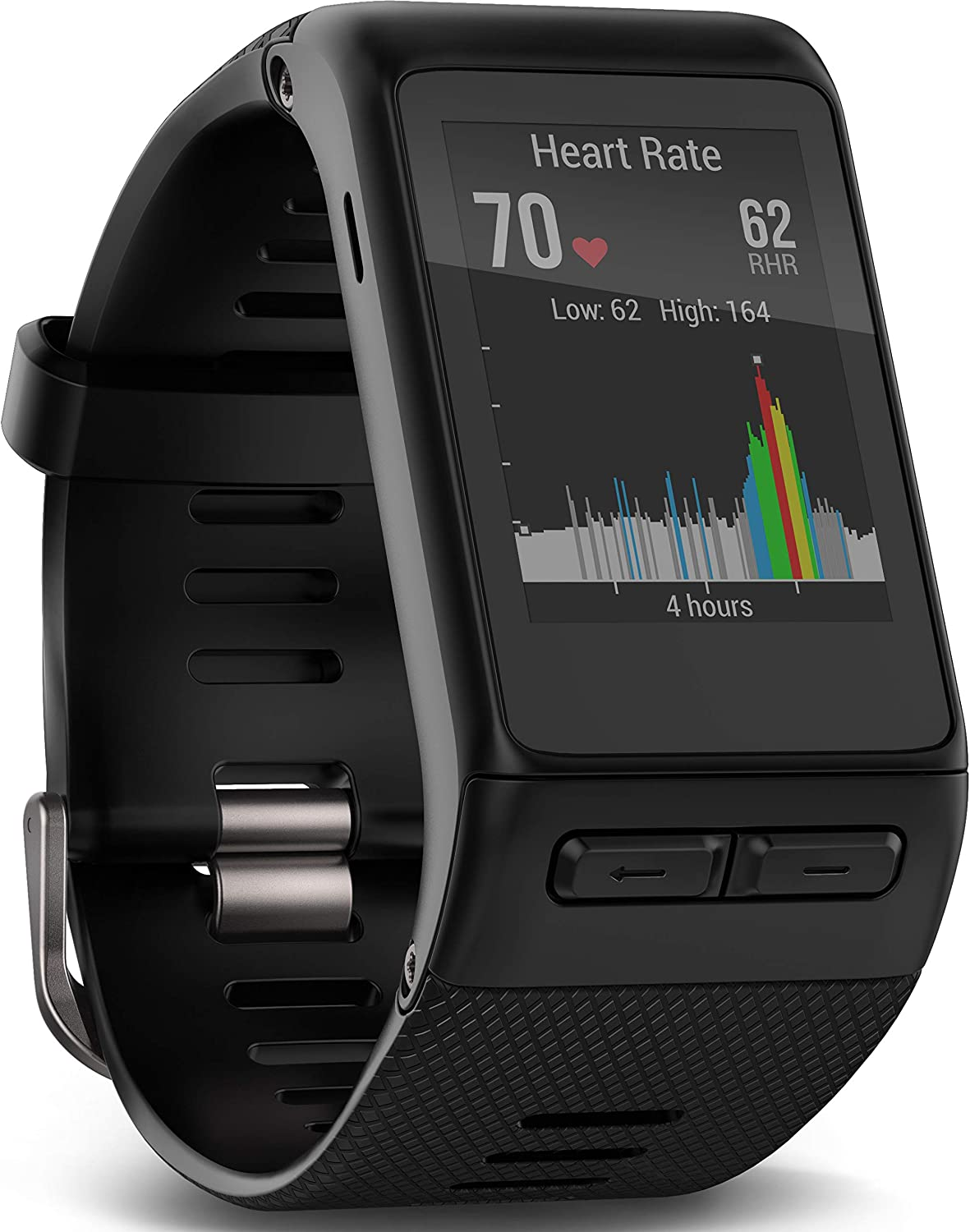 Smartwatch with GPS Garmin v/¡voactive/© HR Black 010-01605-00 normal Smartwatch with GPS