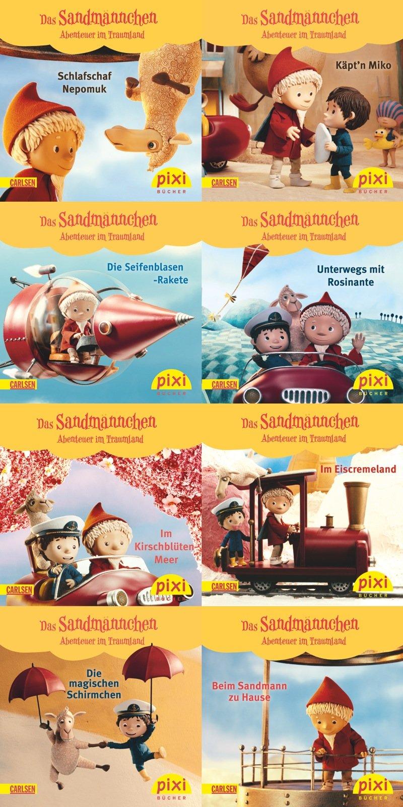 Pixi-Bundle 8er Serie 204: Sandmännchen