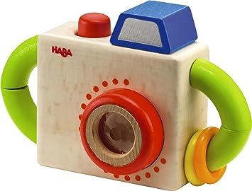 Amazon.com: HABA Capture Fun Classic Wooden Camera Baby Toy: Toys ...