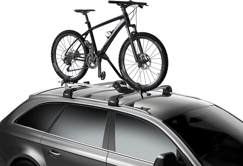 Thule 598001 Roof Bike Rack ProRide, Silver
