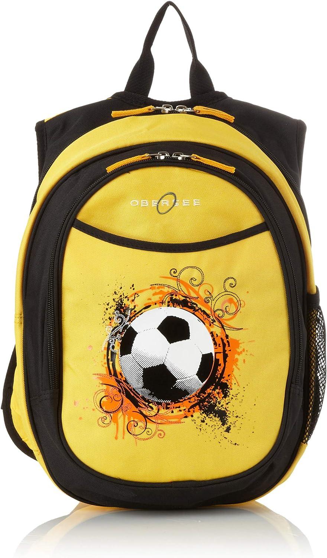 03 Sac à dos compact enfant maternelle avec pochette refroidisseur. Moto bleue Football
