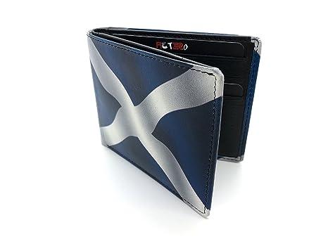 Golunski Horse Racing - Cartera para hombre Hombre, Scotland Bi-Fold (Multicolor)